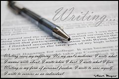 Writing...by dabawenya