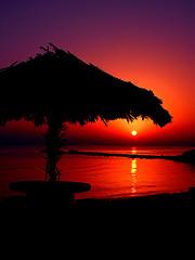 Hut Sunrise by Hamed Saber