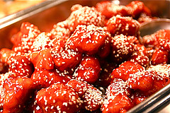 Sesame Chicken Macro by stevedepoto