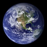 Blue Marble (Planet Earth) by woodleywonderworks