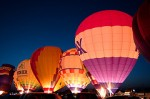 Hot Air Balloon Glow by earlycj5